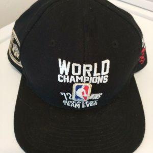 Καπέλο Chicago Bulls 72 Wins World Champions Michael Jordan Συλλεκτικό