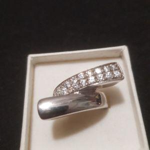 δαχτυλίδι ασήμι