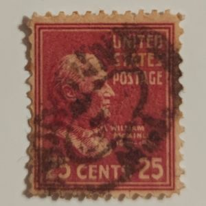 William McKinley - Γραμματόσημο ΗΠΑ (1938)