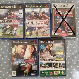 Διαφορα παιχνιδια για PS2