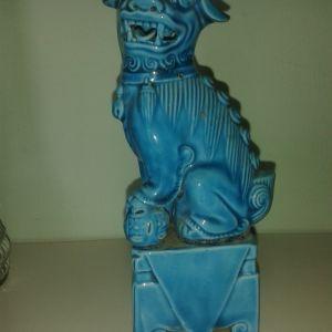 vintage κινεζικο αγαλματακι πορσελανη 15 εκ.