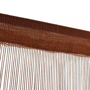 κουρτίνες noodle 150х280 με τρεσσα