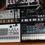 Korg Volca Bass & Volca Sample & Volca Fm & Volca Kick & Volca Keys & 2 Volca Mix & Yamaha Big Jam