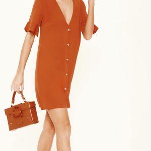 Ολοκαίνουργιο κεραμιδί φόρεμα