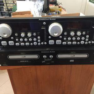 American Audio CD player MCD-810 Διπλο CD player