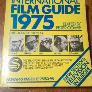 International film guide 1975 by Peter Cowie (608 σελίδες)
