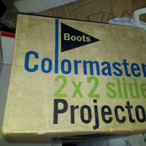 SLIDES PROJECTOR - BOOTS