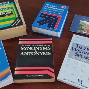 Λεξικα Αγγλικών και αλλα