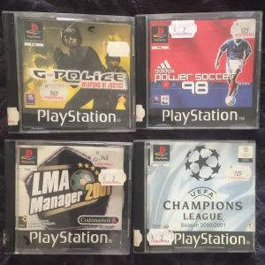 PS1 Games pack