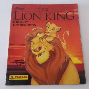 ΑΛΜΠΟΥΜ LION KING(PANINI), ΕΧΕΙ 219 ΑΥΤΟΚΟΛΛΗΤΑ ΑΠΟ ΤΑ 232
