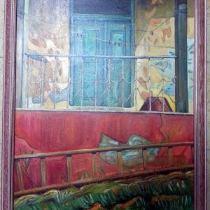 Ελαιογραφία σε μουσαμά 70χ90 cm