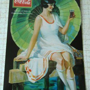 Coca Cola  συλλεκτικό Folder  της Telstra Αυστραλίας με  τηλεκάρτα.