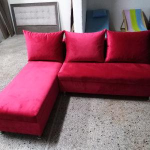 καναπές γωνια με απ χώρο κ κρεββατι η γωνία αλλάζει