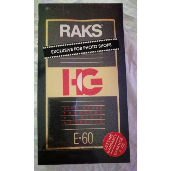 kasetes agrafes DVD RAKS - E-60  kenouries sfragismenes.