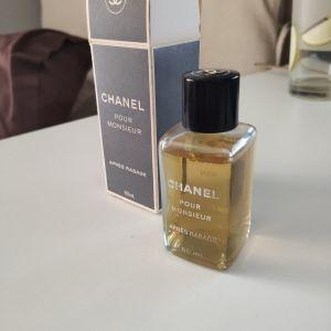 Vintage Aftershave - Chanel pour monsieur 60ml - Κουτί με μπουκαλάκι