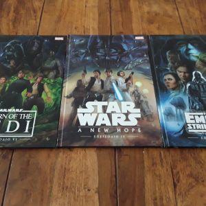 STAR WARS COMICS BOOKS
