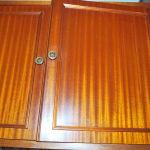 Ντουλάπια κουζίνας μασίφ ξύλο
