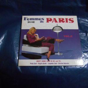 cd  -  FEMMES  DE PARIS  VOL. 2
