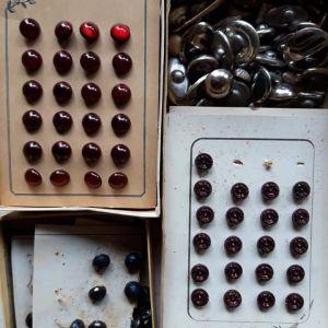 ραφτικα είδη και κουμπιά εποχής