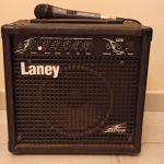 Ενισχυτής Laney (Amplifier) Ηλεκτρικής Κιθάρας + Καλώδιο + Μικρόφωνο Seinheisser