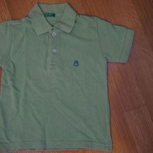 benetton πικε μπλουζα
