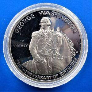 "United States ½ dollar 1982 (PROOF) ""250th anniversary Birth of George Washington"