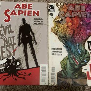 Abe sapien #1 & #2 Dark horse comics