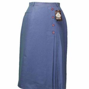 Vintage φούστα αγνό παρθένο μαλλί 1970s Telis Athens