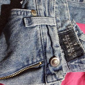 Γυναικείο παντελόνι Jean TRUSSARDI,ψιλομεσο, τελευταία τάση της μόδας.size small. Αψωγη κατάσταση.