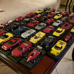 Ferrari συλλογή αυτοκίνητα