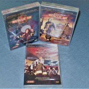 Rescue Me - Οι Πλήρεις Τρεις Πρώτοι Κύκλοι - 12 DVD