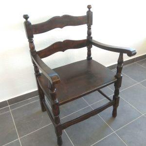 Πολυθρόνα ξύλινη vintage