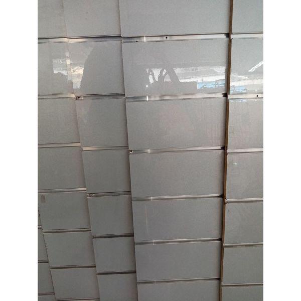 SLAT PANEL 120X120, 6 temachia, vima ana 15ek. Silver Grey