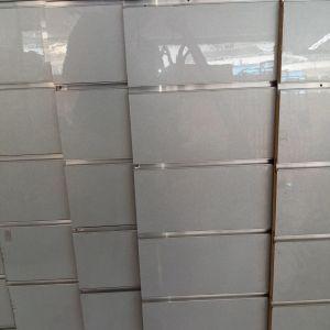 SLAT PANEL 120X120, 6 τεμάχια, βήμα ανά 15εκ. Silver Grey