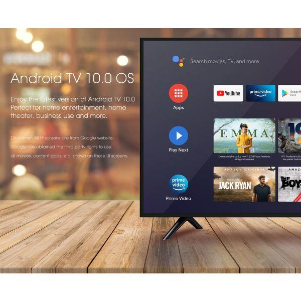 TV BOX choris sindromes MECOOL ATV KM6 Deluxe 4/64GB Amlogic S905X4 Google Certified 4K Android TV Box