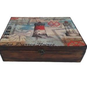 Ξύλινο κουτί αποθήκευσης ΦΑΡΟΣ