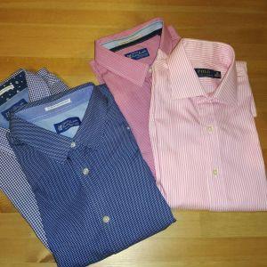 Ανδρικά πουκάμισα+ παντελόνι καινούρια
