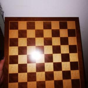 σκακιερα ξυλινη