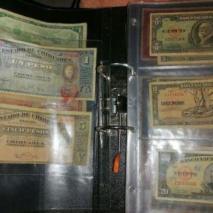 Συλλογή 150 ξένα Χαρτονομισματα