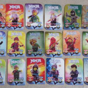 40 Καρτες 3D NINJA