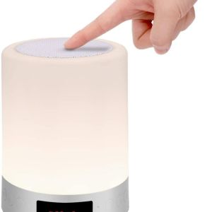 Φορητό ηχείο Bluetooth & Φωτιστικό αφής LED Touch Lamp XGHT S66+ Λευκό 3W