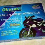 Πληρης Συναγερμος Μοτοσικλετας - Okazaki