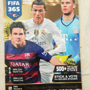 Panini ποδοσφαιρικό αλμπουμ FIFA 365