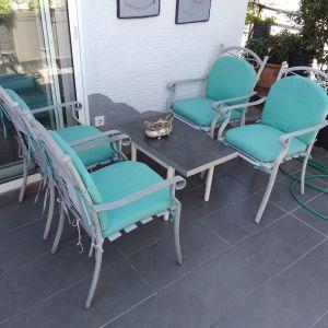 Καρέκλες μπαλκονιού αλουμινίου