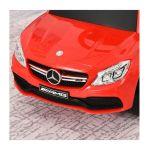 Αυτοκινητάκι – Περπατούρα Licensed PP Mercedes-Benz με Λαβή Γονέα Χρώματος Κόκκινο HOMCOM 370-112RD