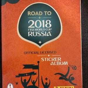 Panini road to russia 2018 - empty album