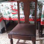 6 καρέκλες τραπεζαρίας καρυδιά