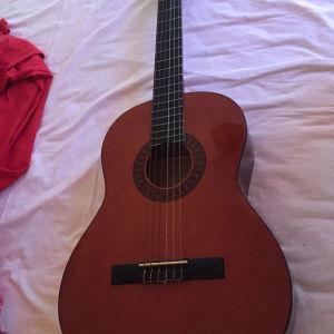 κλασική κιθάρα χειροποίητη +θήκη