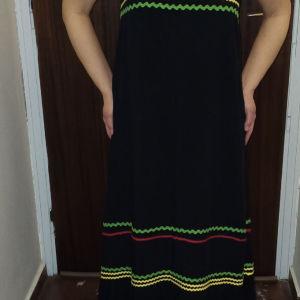Γυναικείο φόρεμα μάξι ZINI