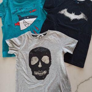 Βαμβακερές μπλούζες 3 τεμάχια